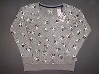 Damen Sweatshirt Pullover Französische Bulldogge Bully Frenchie S 36-38 Primark