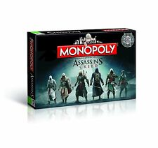 MONOPOLY - ASSASSIN'S CREED - Winning Moves 43515 - NEU