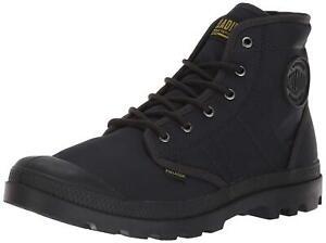 Men's Palladium Boots Pallabrousse TX Nylon Anthracite / Black 75979-003-M