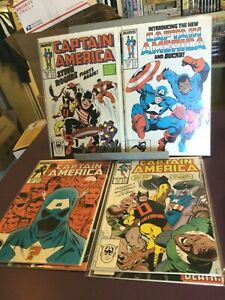 CAPTAIN AMERICA 1980s COMICS / YOU CHOOSE / MARVEL / 1st APPEARANCES / FREE SHIP
