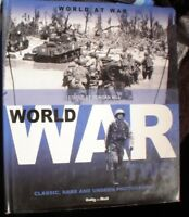 BOOK MILITARY WORLD AT WAR WORLD WAR 2  ILLUSTRATED 125 PAGES SEE PICS