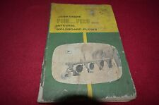 John Deere F115 F125 Plow Operator's Manual Bwpa
