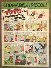 Corriere dei Piccoli N. 48 1967 hugo pratt fanfulla lucky luke gigi bizz totò
