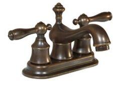 "Brand New Glacier Bay Estates Bath Faucet Heritage Bronze Finish 4"" Centerset"