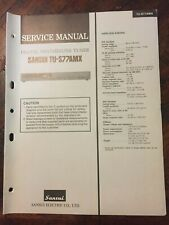 SANSUI TU-S77AMX TUNER ORIGINAL SERVICE REPAIR MANUAL