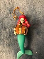 DISNEY GROLIER LITTLE MERMAID ARIEL WITH SEBASTIAN ORNAMENT RETIRED