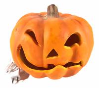 "Vintage 1993 Trendmasters Jack O Lantern Pumpkin Lamp Halloween 8"" Plug In"