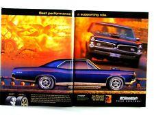 """1967 Pontiac Gto 2003 Xxx Van Diesel Original Print Ad-8.5 x 11 """"2 page"""