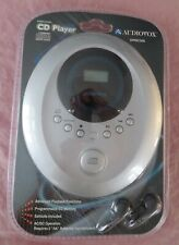 Brand New Sealed In Pkg Audiovox Compact Personal Cd Player Earbuds Dm8220S