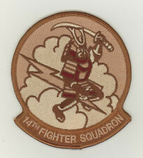 USAF patch 14 Fighter squadron F16C Misawa AB