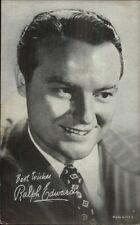 Radio & Television Personality Ralph Edwards - Mutoscope Exhibit Card