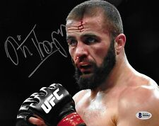 Oli Thompson Signed 8x10 Photo BAS Beckett COA Bellator UFC MMA IGF Autograph