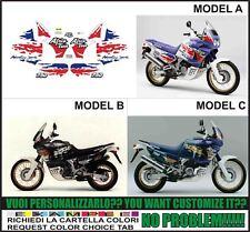 kit adesivi stickers compatibili xrv 750 rd 07 africa twin 1993
