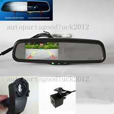 """auto dimming rearview mirror+4.3""""backup display+camera,fit BMW,1,3,5,7,X1,X3,X5"""