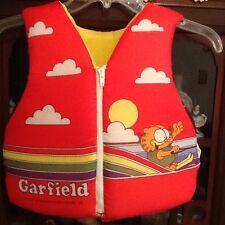 Vintage Garfield Life Jacket Preserver Flotation Cat *Read Desc* Jim Davis