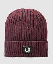 New with tag Fred Perry Two Tone Knitted Beanie