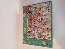 Jumbo Christmas Puzzle 1000 pieces