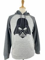 Star Wars Men's Retro Darth Vader Graphic Pullover Hoodie Sweatshirt Medium M