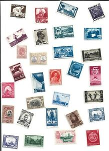 BIG LOT OF STAMPS EARLIER RUMANIA MINT( 250 )