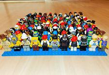 LEGO® 10 Figuren City Sammlung Figur kg Konvolut alle mit Kopfbedeckung