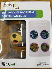 PORTABLE UV PACIFIER, SIPPY CUP & BABY BOTTLE SANITIZER (Bear) FREE SHIPPING