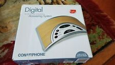 Digital Answering System Conairphone Natural Maple Vintage - NEW IN BOX