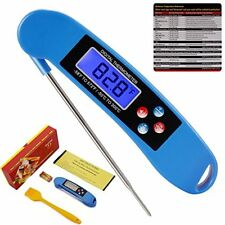 Instant Read Meat Thermometer For Grill And Cooking   UPGRADED NOW WITH GIFT BOX