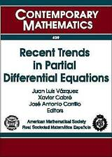 Recent Trends in Partial Differential Equations: UIMP-RSME Santalo Summer School