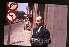 1960s Kodachrome  photo slide Man with a camera  Europe  France ??
