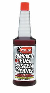 Red Line SI-1 Complete Petrol Fuel System Cleaner Treatment 443ml 60103 Cleans