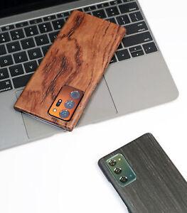 Echt Holz Aramid Kern Backcover Case Stoßfest Hülle für Galaxy Note 20 S21 Ultra