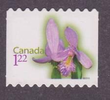 Canada 2010 Flower Definitive #2363ii - Die cut from booklet - unused