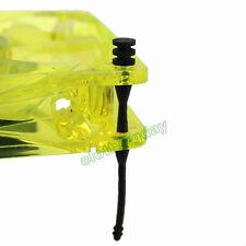 """8pcs 25"""" Flexible Rubber Silicone PC Cooling Fan Mounts Screw Noise Reduction"""