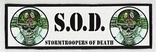SOD SUPERSTRIP PATCH / SPEED-THRASH-BLACK-DEATH METAL