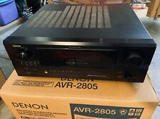 Denon AVR-2805 7.1 Channel 100 Watt AV Surround Receiver