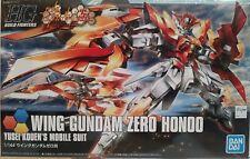 Bandai Wing Gundam Zero Honoo, Yusei Kouen's mobile suit.