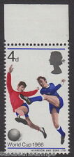 GREAT BRITAIN - 1966 4d. World Cup Football - Red Shift Variety - UM / MNH