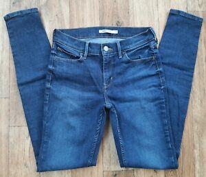 Ladies Levis 710 Super Skinny Jeans size 8 10 Waist 27 leg 31 Levi jeans