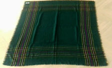 "NEW Cornish Hunting tartan ladies Border shawl - 100% wool - approx 54"" square"
