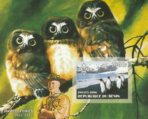 Penguins + Owls Benin Mint 632