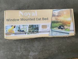 New Noyal Window Mounted Cat Bed Stand Perch 30 Pounds Hand Wash