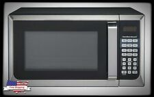 Stainless Steel Microwave Oven 0.9 Cu. Ft. 900 W Home Kitchen Counter Top