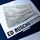 ED RUSCHA MATRESS ORIGINAL 2016 BERLIN EXHIBITION POSTER