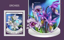 Sierra Leone - 2018 Orchids - Stamp Souvenir Sheet - SRL18708b