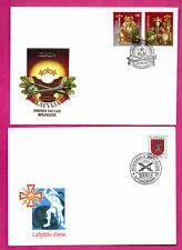 LATVIA LETLAND LOT OF 12 FDC 1991-1997s 934
