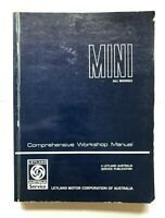 Mini Factory Workshop Manual includes Cooper Clubman Van Moke Leyland Australia