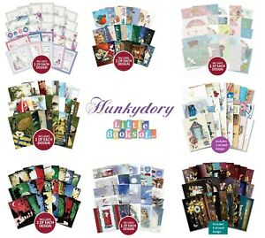 Hunkydory Little Books 24/25/26 Pack - Christmas Birthday Card Making Scrapbook