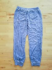Cloth and Stone Anthropologie Pants Sz Small Blue Elastic Waste Drawstring