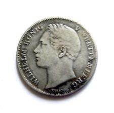 Germany States- Wurtemberg 1/2 Gulden 1840.RARE