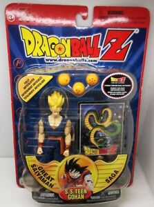 IRWIN Dragon Ball Z Action Figure Great Saiyaman Saga, S.S.Teen Gohan SEALED NEW